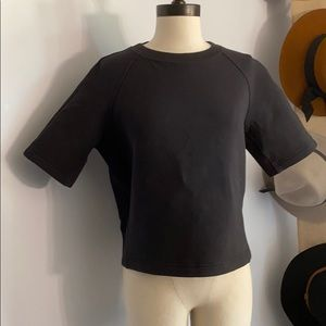 Lululemon Work Out Too Short Sleeve Pull Over